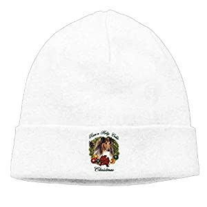 Skull Cap Knitted Hat Momens Rough Collie Fashion Street Dance Beanies Hats 1