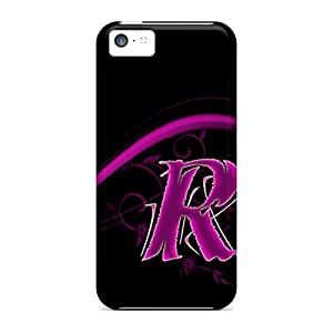 Hot Design Premium ANsWKTr-3243 Tpu Case Cover Iphone 5c Protection Case(pink R)