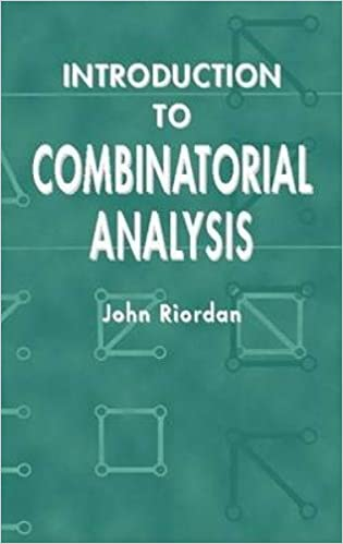 Introduction to combinatorial analysis dover books on mathematics introduction to combinatorial analysis dover books on mathematics dover ed edition fandeluxe Images
