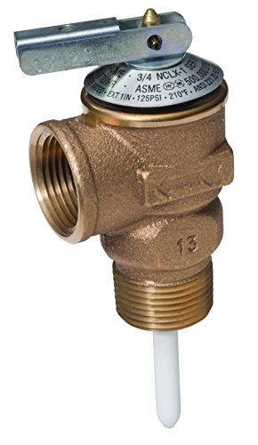 (Cash Acme 16931-0150 Fvx-5C Commercial Temperature And Pressure Relief 3/4-Inch Valve, Female Inlet)