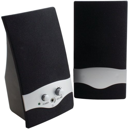 Axis 2.0 Multimedia Speaker System (2-Piece) Black Ms-210