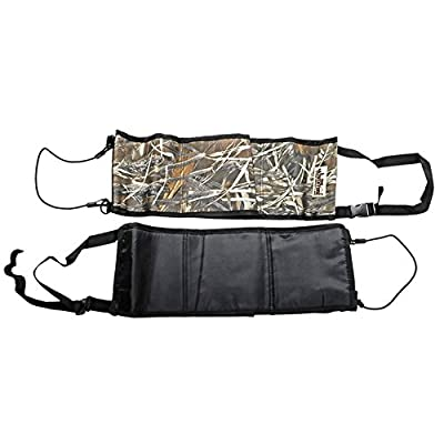 Hunting Shotgun Rifle Hanging Holder Bag Suit for Car Rear Seat Belt Stealth Hunting Shooting Attachment Equipment Kits Gun Rack Outdoor Camouflage Tool Multi-Functional 2/Pcs Wynex