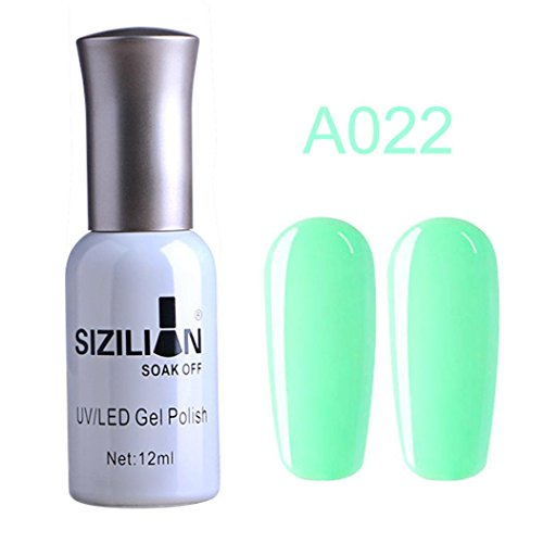 12ml Nail Polish Long Lasting UV LED Nail Gel Lacquer Soak Off Nail Art Polish