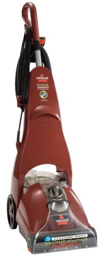 BISSELL PowerSteamer PowerBrush Full Sized Carpet Cleaner, 1623 - Bissell Power Brush