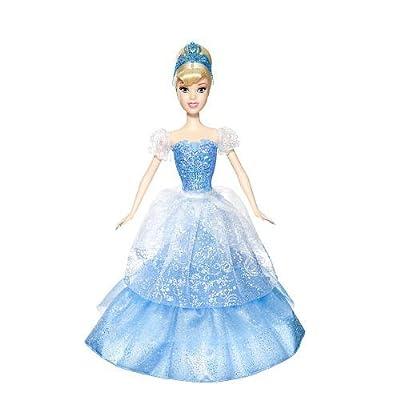 Disney Princess 2-in-1 Ballgown Surprise Cinderella Doll by Mattel