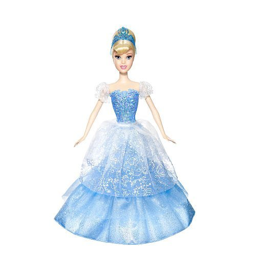 2in 1 Doll - Mattel Disney Princess 2-In-1 Ballgown Surprise Cinderella Doll