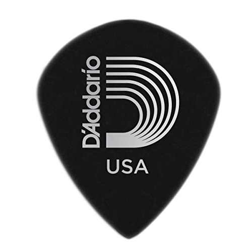 Planet Waves 3DBK4-25 Black Ice Guitar Picks, Medium, 25 ()