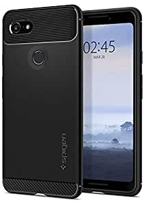 Spigen Rugged Armor Designed for Google Pixel 3 Case (2018) - Black