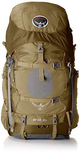 UPC 877257016876, Osprey Women's Ariel 55 Backpack, Summer Wheat Brown, Medium