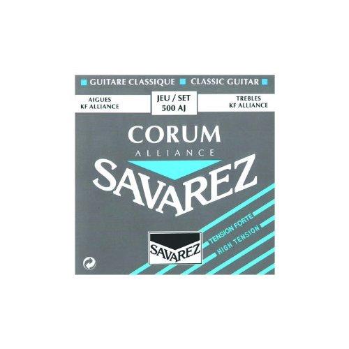 Savarez Corum Alliance 500AJ High Tension Classical Guitar Strings - High Tension Strings