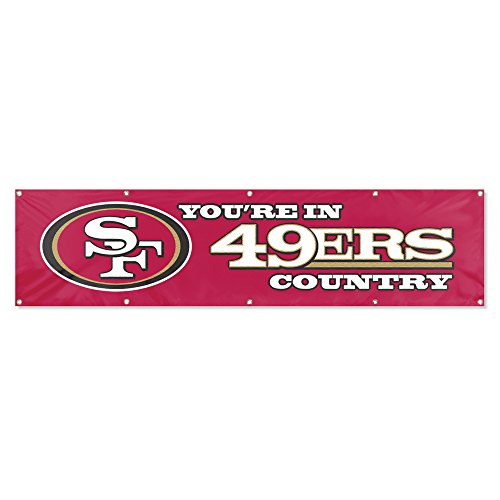 Party Animal San Francisco 49ers 8'x2' NFL Banner ()