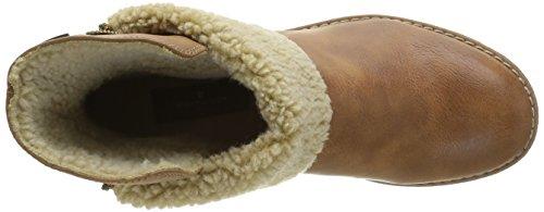 Tom Tailor 1692007, Botines para Mujer Marrón - marrón (Cognac)