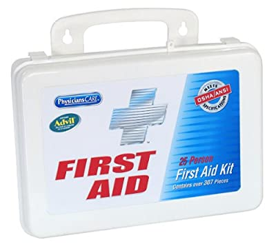 PhysiciansCare by First Aid Only First Aid Kit for up to 25 People, 272 Pieces from PhysiciansCare