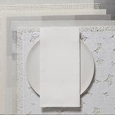Chilewich Linen Napkin Single White
