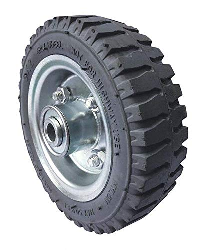 6'' Light-Duty Centipede Tread Pneumatic Wheel, 150 lb. Load Rating pack of 5