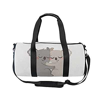 good Cooper girl Koala Kiss Duffels Bag Travel Sport Gym Bag