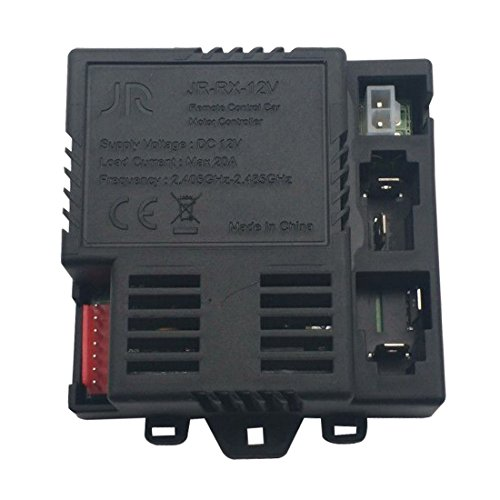 jiaruixin JR-RX-12V Receiver Match 2.4G Bluetooth Remote Control Accessories , Control Box Motherboard Kids Ride On Car Replacement Parts