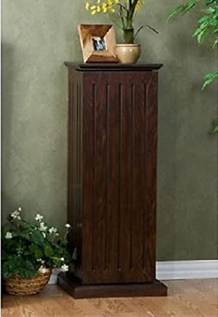 This Tall Media Cabinet With Doors And Shelves Is Great For DVD Storage And  Serves As