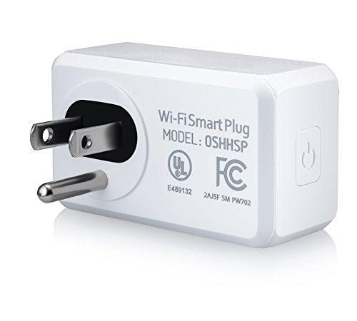 Ora Alexa-Enabled Wi-Fi Mini Smart Plug, White (Pack of 2) by ORA (Image #4)