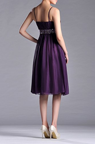 Women's Chiffon Tea Dresses Sunbeam Line Length Adorona a TUqfWwdTB6