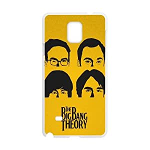 Big Bang Theory Beatles Style Samsung Galaxy Note 4 Cell Phone Case White JNC58CC0
