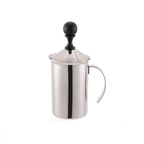 W&Z Leche frother Manual Leche espumante Jarra Espuma Maker Creamer para Cappuccino café con Leche con