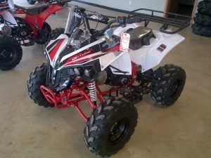 125 Atv (CRT Sportrax 125 cc ( Apollo ATV )-Red)