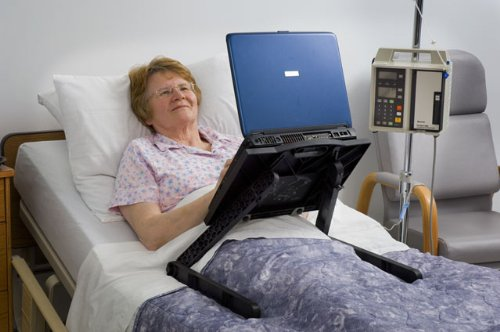 LAPTOP LAIDBACK - The Only Laptop Bed Table Designed for The Reclined by LAPTOP LAIDBACK (Image #4)