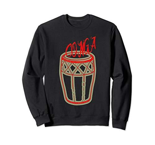- Conga Drum T-Shirt Conga Drummer Gift Tee Sweatshirt