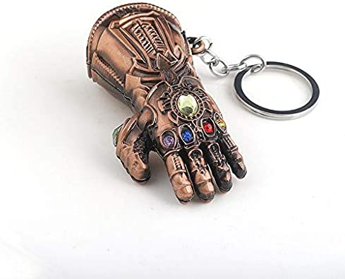 Gauntlet 3d Pendant Gloves Keyring Men Women