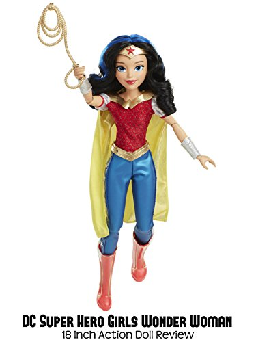 Review  Dc Super Hero Girls Wonder Woman 18 Inch Action Doll Review