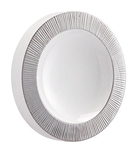 Cheap  Zuo A11343 Wall Art, Silver & White