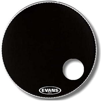 evans eq3 resonant black bass drum head 20 inch musical instruments. Black Bedroom Furniture Sets. Home Design Ideas