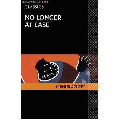no longer at ease chapter 1 1 no longer at ease chinua achebe  2 no longer at ease first published in 1960 1 for christie 3  chapter one for three or four weeks obi okonkwo had been steeling himself against this moment and when he walked into the dock that morning he thought he was fully prepared he wore a smart palm-beach suit and appeared unruffled and.