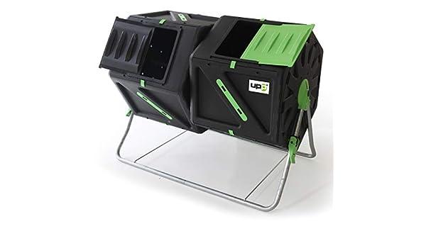 UPP compostador de tambor con 2 cámaras cada compostador térmico ...