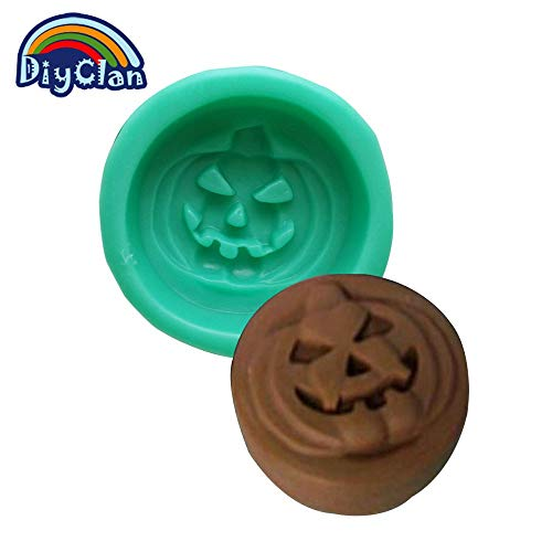 1 piece DIY silicone cookies molds for cake decorating ice cream tools chocolate soap mould rubber pumpkin halloween pasta S0157NG25 -