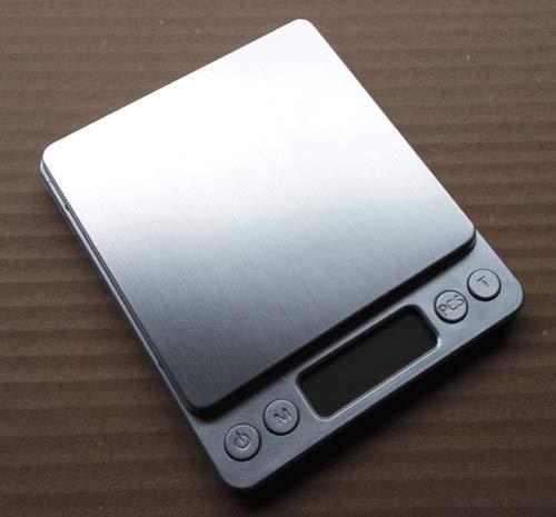 MiLanNuo Digital Scale 2000g x 0.1g Jewelry Gold Silver Coin Gram Pocket Size Herb Grain by MiLanNuo