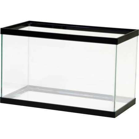 Aqua Culture Aquarium, 10 gallon (20 Gallon Long Fish Tank)