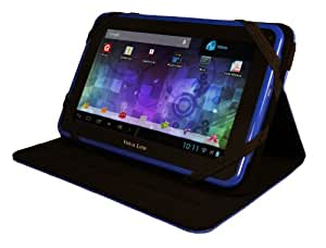 """Visual Land Prestige 7L-TC - 7"""" Android Tablet with 8GB Memory and Bonus Tablet Case (Royal Blue)"""