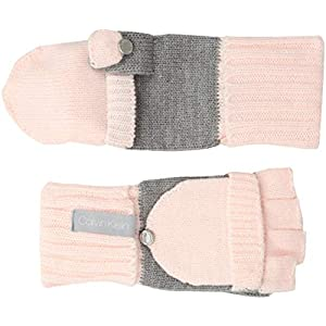 Calvin Klein Women's Ft 2tone Knit Glove