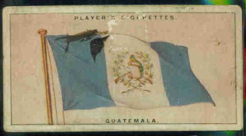 Guatemala 1928 Player Cigarettes Flags of the League of Nations #22 (FAIR) ()