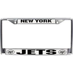 New York Jets Chrome Frame