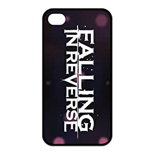 FEEL.Q- Unique Custom TPU Rubber iPhone 4/4S Case Cover - Falling In Reverse
