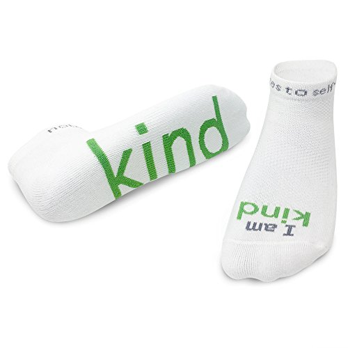 Notes to Self Socks - Daily Affirmations, Inspirational Socks for Women & Men from notes to self