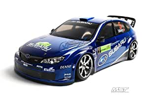 MST Ms-01d RTR 1/10 Scale 4wd Electric Rc Drift Car (2.4g) W/carbody- Subaru Impreza WRC 2008