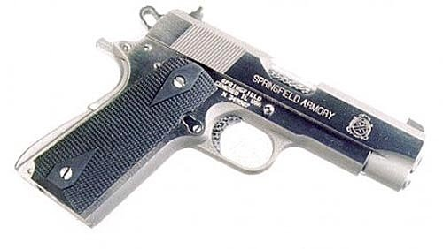 Pearce Grips Gun Fits Government Model 1911 Rubber Side Panel Grips