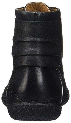 Kickers Damen Hobylow Kurzschaft Stiefel Noir (Noir)