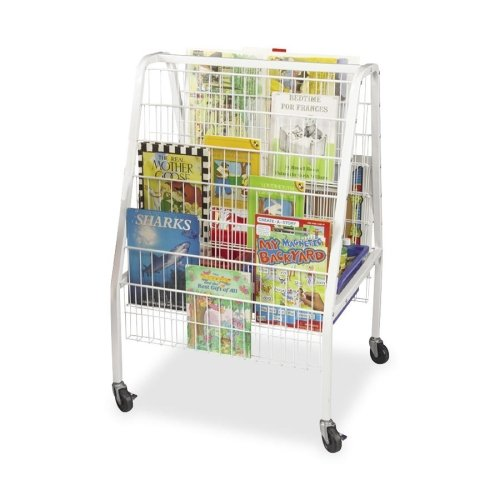 Balt Library Mobile Cart (Balt Library Mobile Cart - 12 Shelf - 3