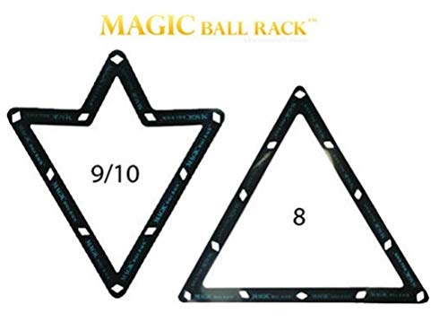 - Magic Ball Rack 8, 9, and 10 Ball Combo Pack
