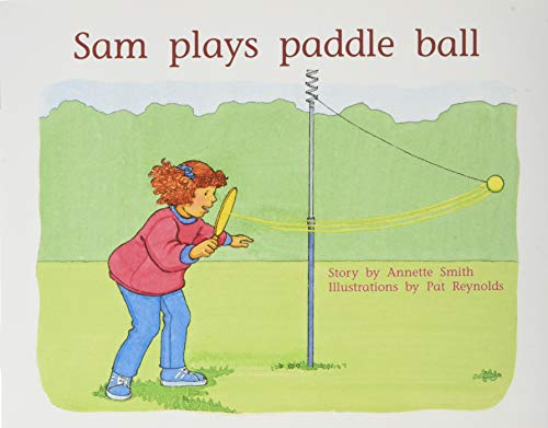 Rigby PM Plus: Individual Student Edition Blue (Levels 9-11) Sam Plays Paddle Ball